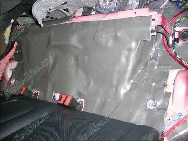 Шумоизоляция для автомобиля своими руками форд фокус 8