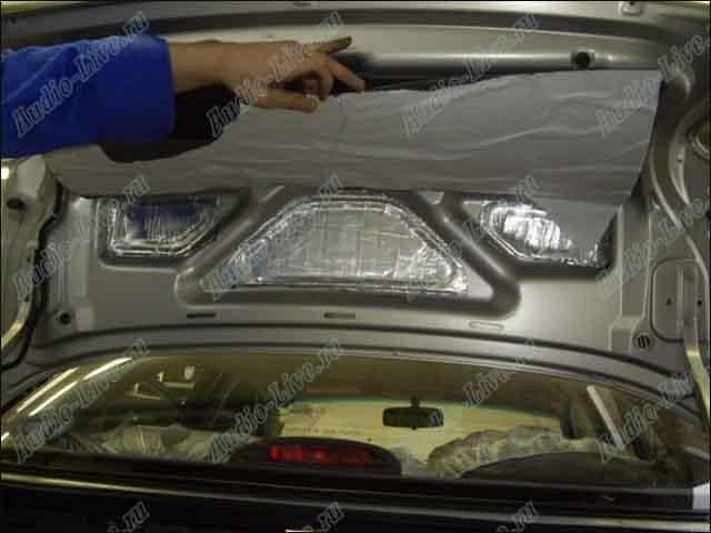 Шумоизоляция багажника ланос своими руками 63